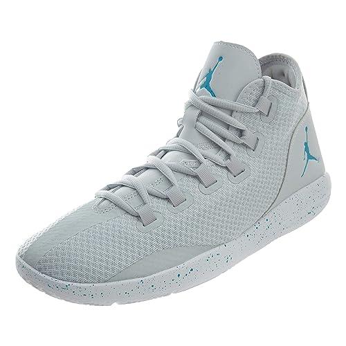 1c2b31f529f7 Nike Men s Jordan Reveal Basketball Shoe Pure Platinum Blue Lagoon-White 9