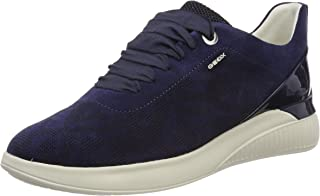 GEOX D Theragon C Womens Suede Leather Sneakers/Shoes