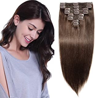 Full Head Clip in Real Hair Extensions - Remy Human Hair
