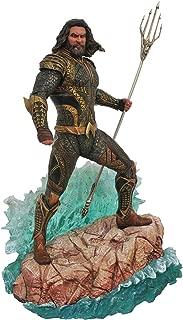 DIAMOND SELECT TOYS DC Gallery: Justice League Movie Aquaman PVC Gallery Figure