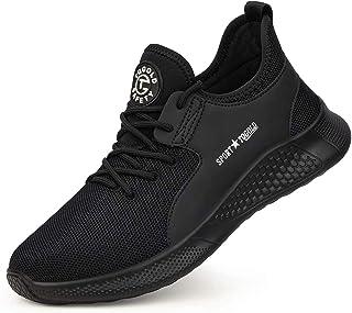TQGOLD® Chaussure de Sécurité Homme Femme Chaussures de Travail avec Embout de Protection en Acier