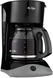 Mr. Coffee 12-Cup Coffee Maker, Black