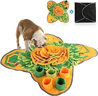 Petyoung Hondensnuffelmat Hondenvoermat voor honden, speelgoed voor huisdierenpuzzels Duurzaam interactief hondenspeelgoed...