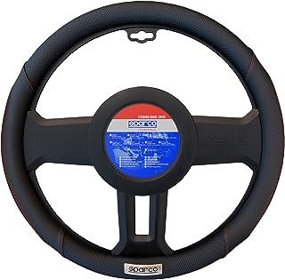 SPARCO Universal Steering Wheel Cover, SPC1113BK, Black