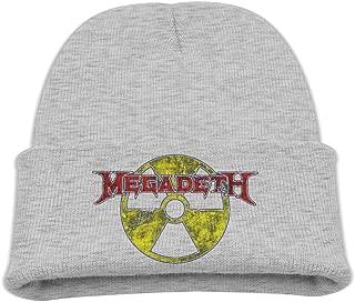 Boys' Toboggan Hat Cool Beanie Winter Megadeth Skull Cap BaseballCap Beanie
