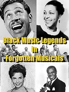 Black Music Legends in Forgotten Musicals