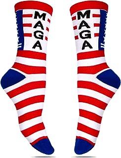Donald Trump Socks Make America Great Again Republican Socks Gifts Joke Socks Trump 2020 MAGA Socks
