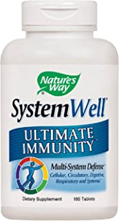 Nature's Way Systemwell Ultimate Immunity Multi-System Defense, 180 tablets