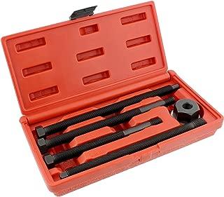 Abn Long Reach Harmonic Balancer Installer Kit – 5 Piece Harmonic Balancer Pulley Puller Set Damper Puller Kit