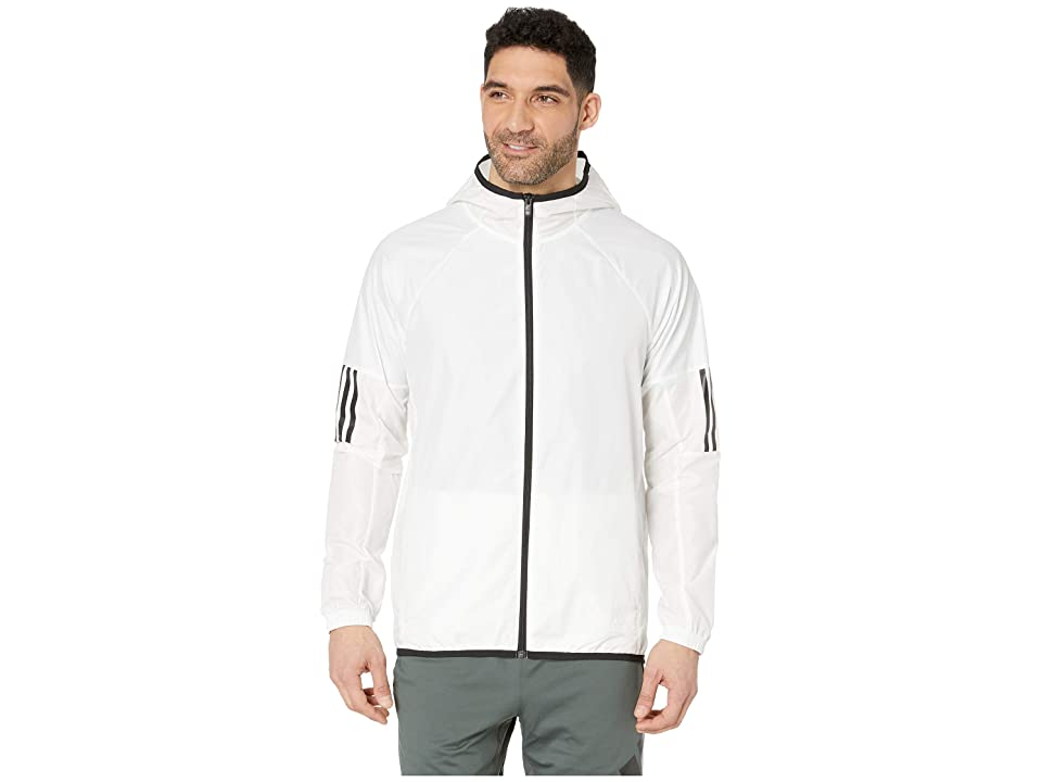 adidas Wind Full-Zip Jacket (White) Men