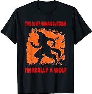 Funny Wolf Halloween Shirt, Perfect Wolf Halloween Tee Gift