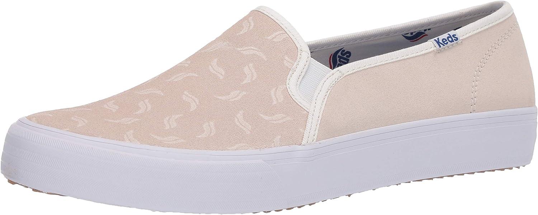 Keds Women's Double Decker Suede Tossed Wave Logo Sneaker