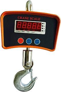 LGYKUMEG Digital Luggage Scales with Mini-Crown 500 kg Hanging Balance Industrial Digital high-Performance LCD Balance,Black