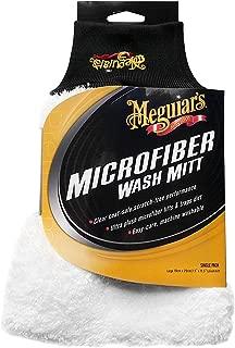Meguiar's X3002EU Microfiber Car Wash Mitt - Chenille Mitt Glove