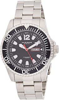 Akribos XXIV Casual Watch Analog Display for Men