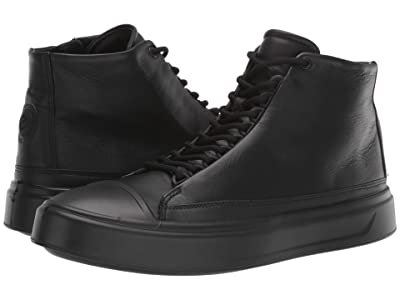 ECCO Flexure T-Cap High (Black) Men