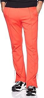 بنطال رجالي للركض بقَصّة مستقيمة من كالفن كلاين J30J307814- لون برتقالي محمر