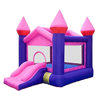 Inflatable Bouncy Castle Inflatable Castle Outdoor Children Large Water Slide Supermarket Entertainment Castle for Kids Ch...