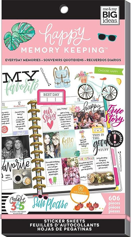 Christmas Joy 979//Pkg ME /& MY BIG IDEAS PPSV-157-3048 Happy Planner STCKRS