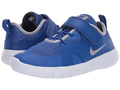 Nike Kids Flex Contact 3 (Little Kid) (Midnight Navy/Volt/Blue Hero) Kids Shoes