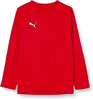 PUMA Unisex Liga Training Sweat Jr Sweatshirt voor kinderen