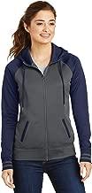 Sport-Tek?LST236 Ladies Sport Wick?Varsity Fleece Full Zip Hooded Jacket