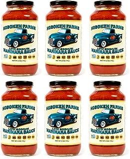Hoboken Farms Low Sodium Marinara 6 Pack