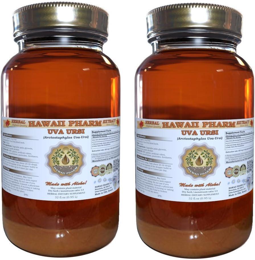 Uva Ursi Liquid Omaha Mall Extract Arctostaphylos Organic Uva-Ur Time sale