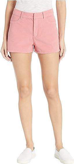 Boy Rules Corduroy Shorts