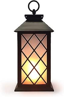"allgala 12"" LED Flame Effect Lantern Lamp"