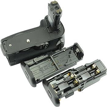 DSTE® プロ 互换 BG-E16 垂直 バッテリーグリップ のために Canon 7D Mark II カメラ