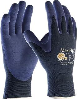 ATG 34-274 - Guante MaxiFlex® Elite™, color azul, talla 8