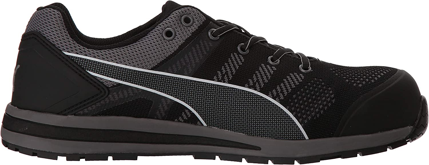 Buy PUMA Safety Elevate Knit Black Low ASTM SD Safety Shoes Safety ...