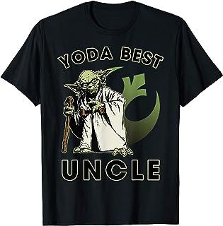 Star Wars Yoda Best Uncle Rebel Logo Camiseta