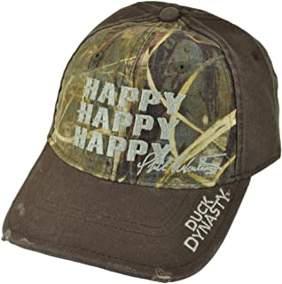 Duck Commander Duck Dynasty Happy Happy Happy Brown/Realtree Max-4 Camo Hat