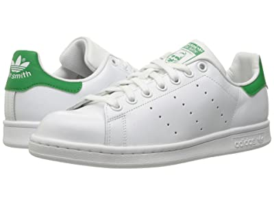 adidas Originals Stan Smith (Footwear White/Footwear White/Green 1) Women