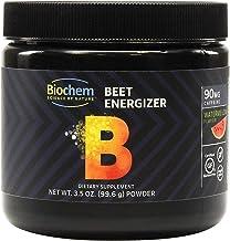 Biochem Beet Energizer - 3.5 Ounce - Watermelon Flavor - 30 Servings - Energy & Endurance - B-Vitamins - Magnesium - Keto-...
