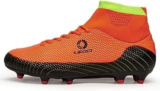 Performance Men's Soccer Shoe Outdoor Soccer Cleat (10 D(M) US, Orange)
