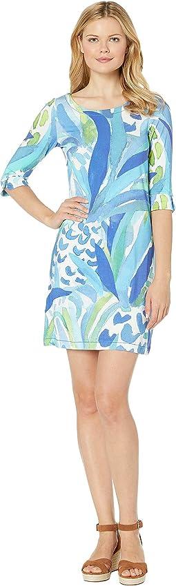 Palma V-Neck Jersey Dress