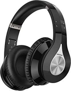 Mpow 059+ Bluetooth Headphones, 100 Hours Playtime Bluetooth 5.0 Headphones, Wireless Over-Ear Bluetooth Headphones with D...