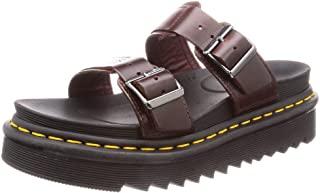 Dr. Martens Unisex-Adult Myles Black Brando Sandal