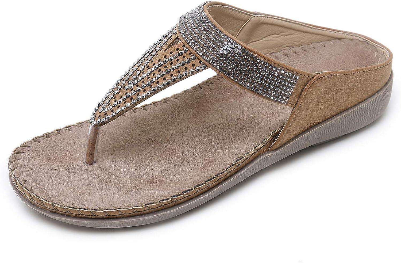 ZAPZEAL Dress Sandals for Women Clip Toe Summer Casual Bohemian