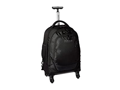 Kenneth Cole Reaction 21 Wheeled Book Bag 17 Laptop Tablet Business Travel Backpack/Carry-On Bag (Black) Backpack Bags