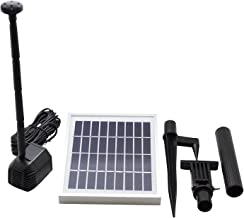 ASC 2.5-watt Solar Water Pump Kit for Fountain Pool