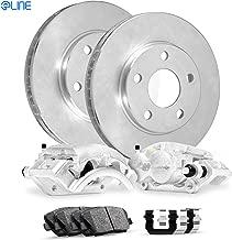 Rear Eline Brake Calipers + Brake Rotors + Ceramic Brake Pads+Hardware