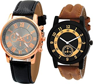 NIKOLA Analogue Black Color Dial Boys Watch - B192-B14 (Pack of 2)