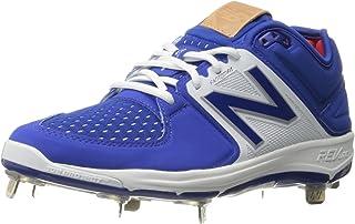 New Balance Men's L3000V3 Baseball Shoe-M, Royal/White, 16 2E US