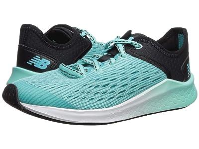 New Balance Kids Fresh Foam Fast (Little Kid/Big Kid) (Black/Tidepool) Girls Shoes