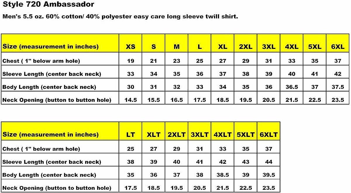 Tri Mountain Peak Performers 720 Ambassador 60/40 Easy Care Woven Shirt