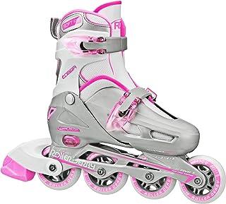 轮滑阻抗赛女童 COBRA 可调节直排轮滑